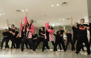 ソーラン節ダンス前半写真